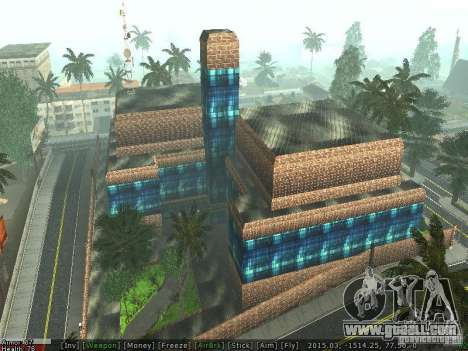 The new hospital in Los Santos for GTA San Andreas