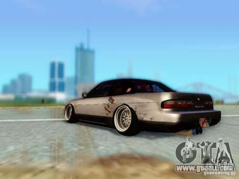 Nissan S13 - Touge for GTA San Andreas left view