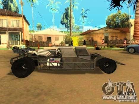 Fast & Furious 6 Flipper Car for GTA San Andreas inner view