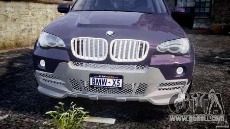 BMW X5 xDrive 4.8i 2009 v1.1 for GTA 4 side view