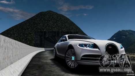 Bugatti Galibier 2009 for GTA 4 inner view