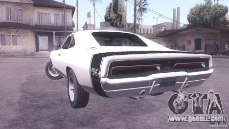 Dodge Charger R/T for GTA San Andreas left view