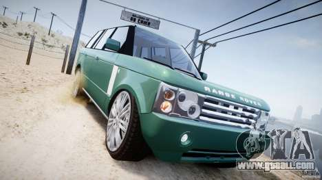 Range Rover Vogue for GTA 4 side view