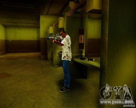 Tavor Tar-21 Digital for GTA San Andreas fifth screenshot