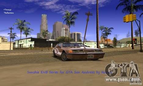 Sunshine ENB Series by Recaro for GTA San Andreas