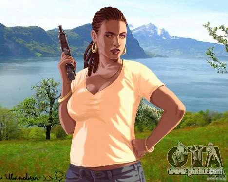 Boot screen Russia in America for GTA 4 sixth screenshot