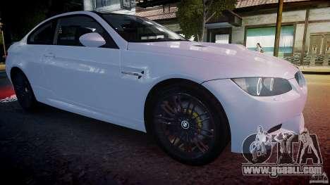 BMW M3 E92 2008 v.2.0 for GTA 4 side view