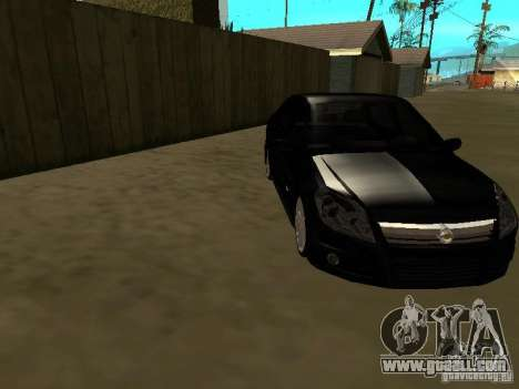 Chevrolet Vectra Elite 2.0 for GTA San Andreas back view