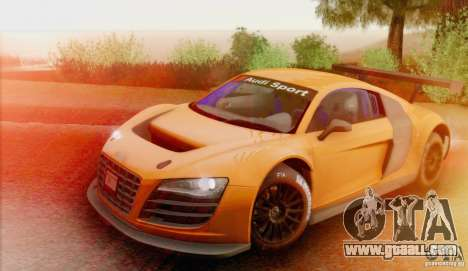 Audi R8 LMS GT3 for GTA San Andreas