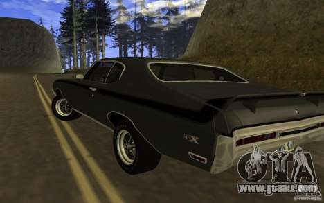 Buick GSX 1970 for GTA San Andreas left view