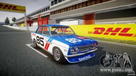 Datsun Bluebird 510 1971 BRE for GTA 4 right view
