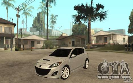 Mazda 3 Mazdaspeed 2010 for GTA San Andreas