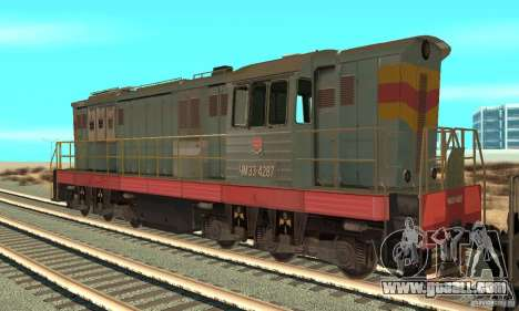 Locomotive ChME3-4287 for GTA San Andreas