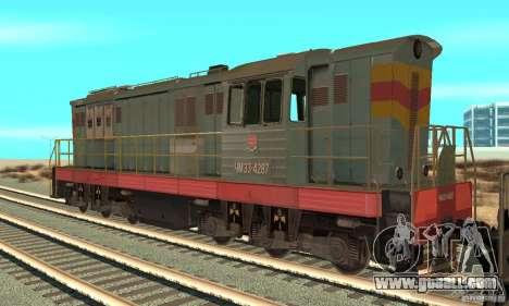 Locomotive ChME3-4287 for GTA San Andreas