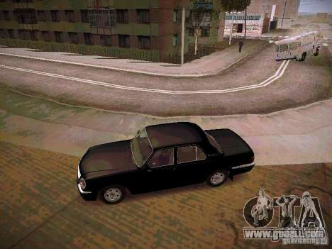 GAZ Volga 31105 S60 for GTA San Andreas left view