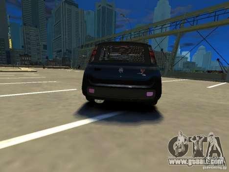 Fiat Novo Uno Sporting for GTA 4 back left view