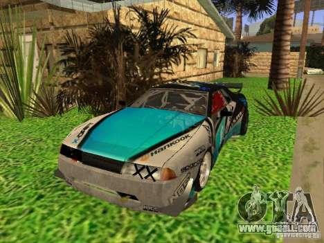Elegy Drift Korch v2.1 for GTA San Andreas inner view