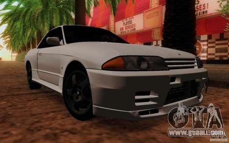 Nissan Skyline GT-R R32 1993 Tunable for GTA San Andreas back left view