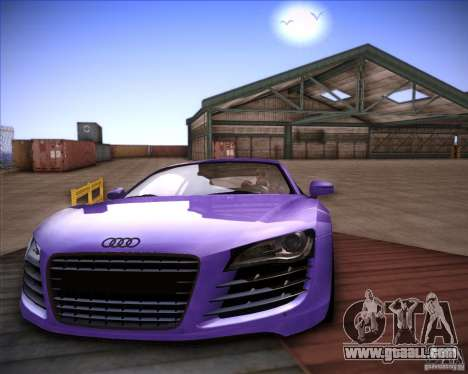 Audi R8 Shift for GTA San Andreas