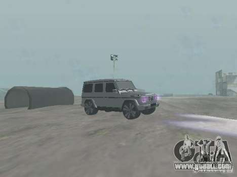 Mercedes-Benz G500 Kromma 1480 for GTA San Andreas back view