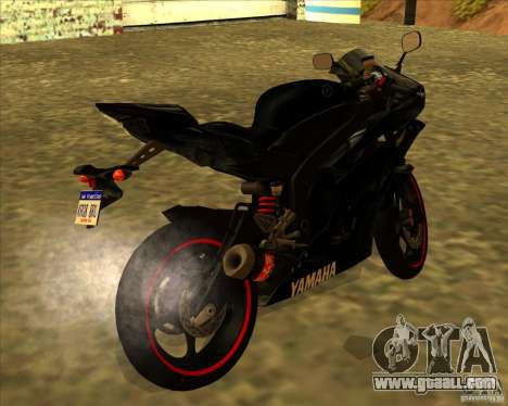 Yamaha YFZ R6 for GTA San Andreas left view