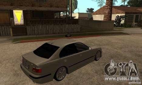 BMW E39 M5 Sedan for GTA San Andreas right view