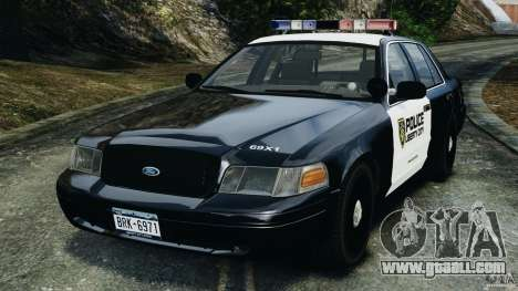 Ford Crown Victoria Police Interceptor 2003 LCPD for GTA 4