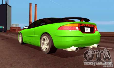 Eagle Talon TSi AWD 1998 for GTA San Andreas engine