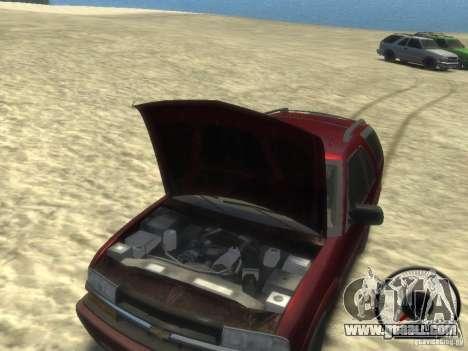 Chevrolet Blazer LS 2dr 4x4 for GTA 4 inner view