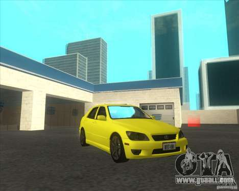 Lexus IS300 tuning for GTA San Andreas right view