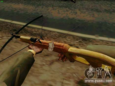 A working crossbow with arrows for GTA San Andreas third screenshot