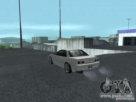 Nissan Skyline R32 Zenki for GTA San Andreas back left view