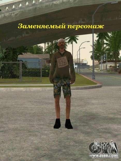 Grouping of Mercenaries from a stalker for GTA San Andreas twelth screenshot