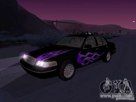 Ford Crown Victoria for GTA San Andreas side view