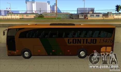 Mercedes-Benz Travego Gontijo for GTA San Andreas left view