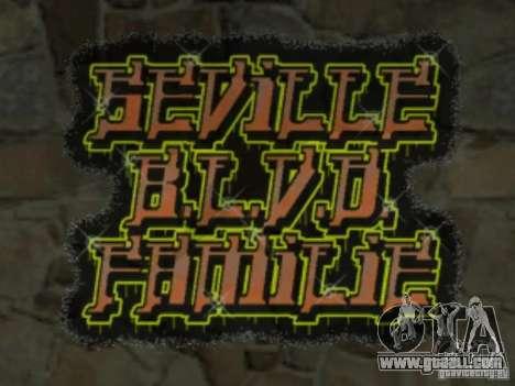 New LS gang tags for GTA San Andreas sixth screenshot