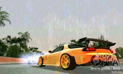 Mazda RX7 RE-Amemiya for GTA Vice City back view