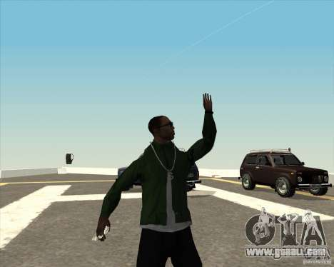 Different animation for GTA San Andreas seventh screenshot