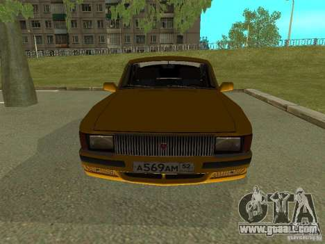 GAZ Volga 3102 for GTA San Andreas right view