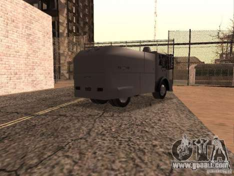 A police water cannon Rosenbauer for GTA San Andreas right view