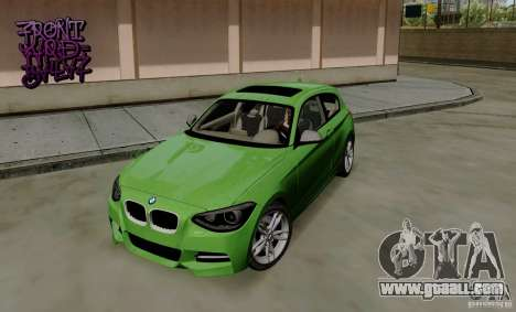 BMW M135i V1.0 2013 for GTA San Andreas