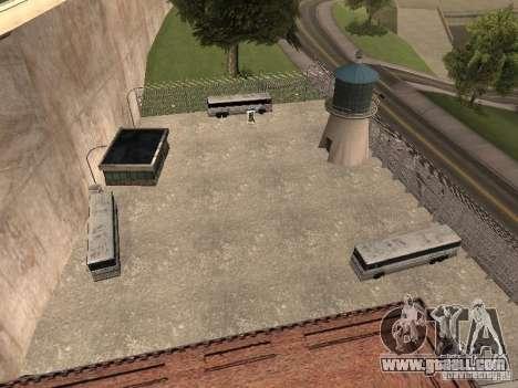 Bus Park v1.1 for GTA San Andreas