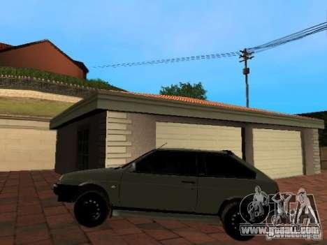VAZ 2108 Gangsta Edition for GTA San Andreas back left view