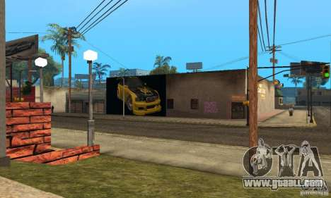 Grove Street 2013 v1 for GTA San Andreas third screenshot