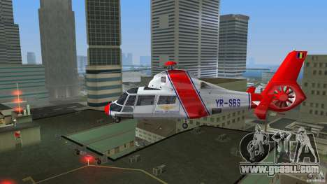 Eurocopter As-365N Dauphin II for GTA Vice City right view