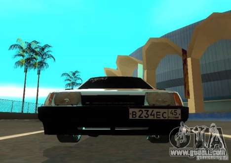 Vaz 2109 AK-47 for GTA San Andreas back view