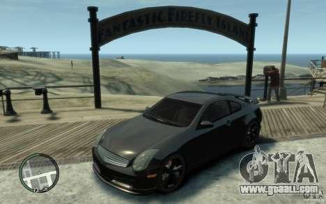 Nissan Skyline Coupe 350GT for GTA 4