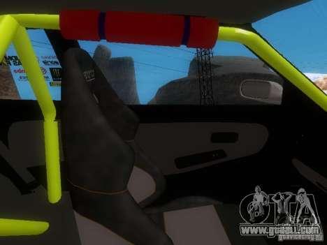 Nissan Silvia S13 Drift Style for GTA San Andreas bottom view