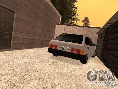 VAZ 2108 Taxi for GTA San Andreas