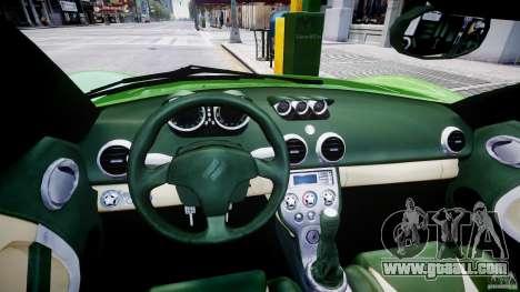 Ascari KZ-1 for GTA 4 back view